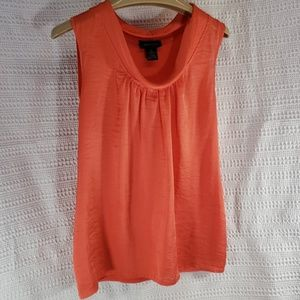 Bright Cheery Drape Neck Top
